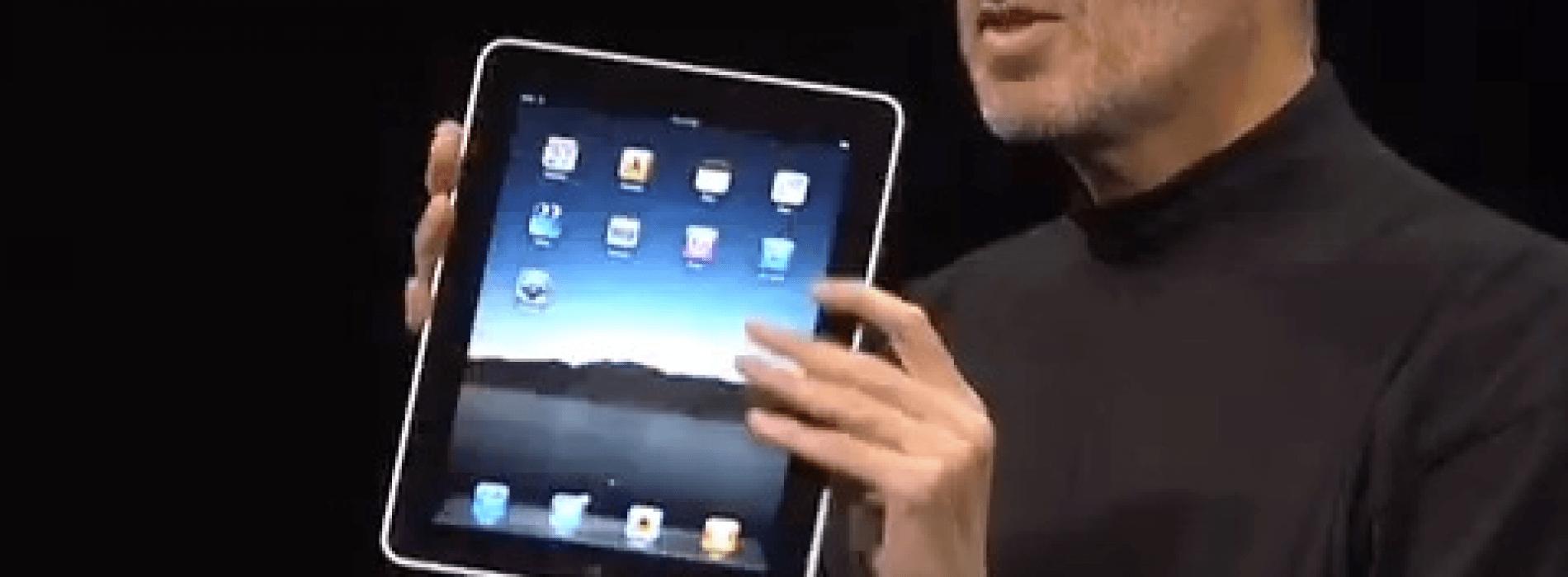 Por fin llego el iPad