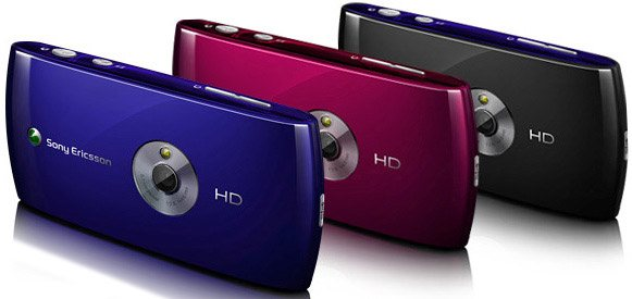 Sony Ericsson Vivaz colores
