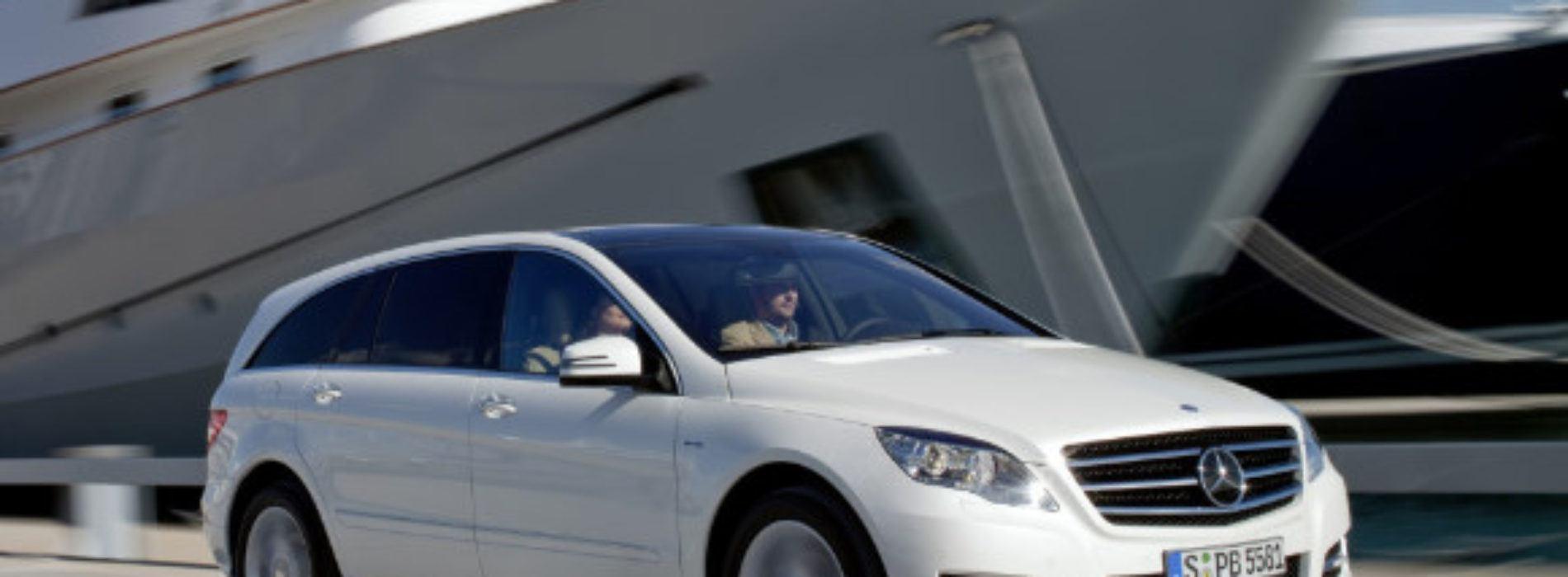Nuevo modelo clase R, de Mercedes Benz