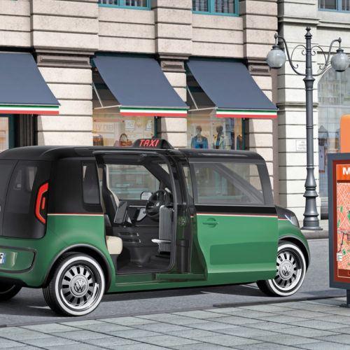 Volkswagen crea el taxi del futuro