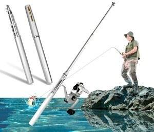 Bolígrafo caña de pescar