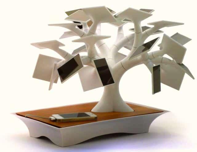 Cargador solar bonsai