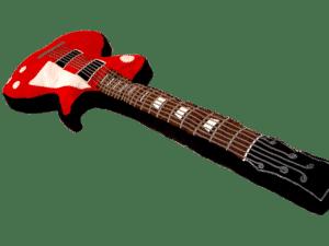 Cojín Guitarra