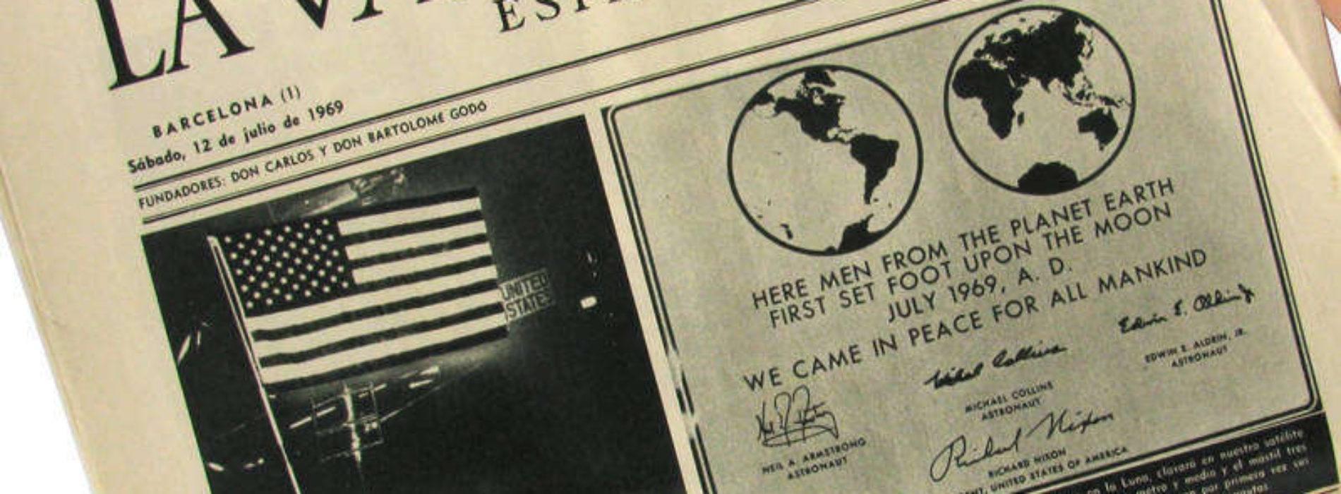 Periódico personalizado del día de nuestro nacimiento