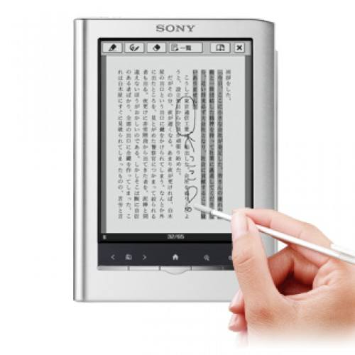 El mini e-reader de Sony