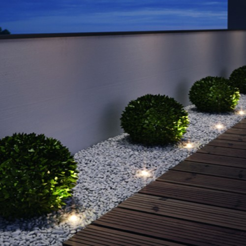 Artículos de iluminación eléctricos para el Jardín