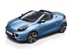 Renault Wind color azul