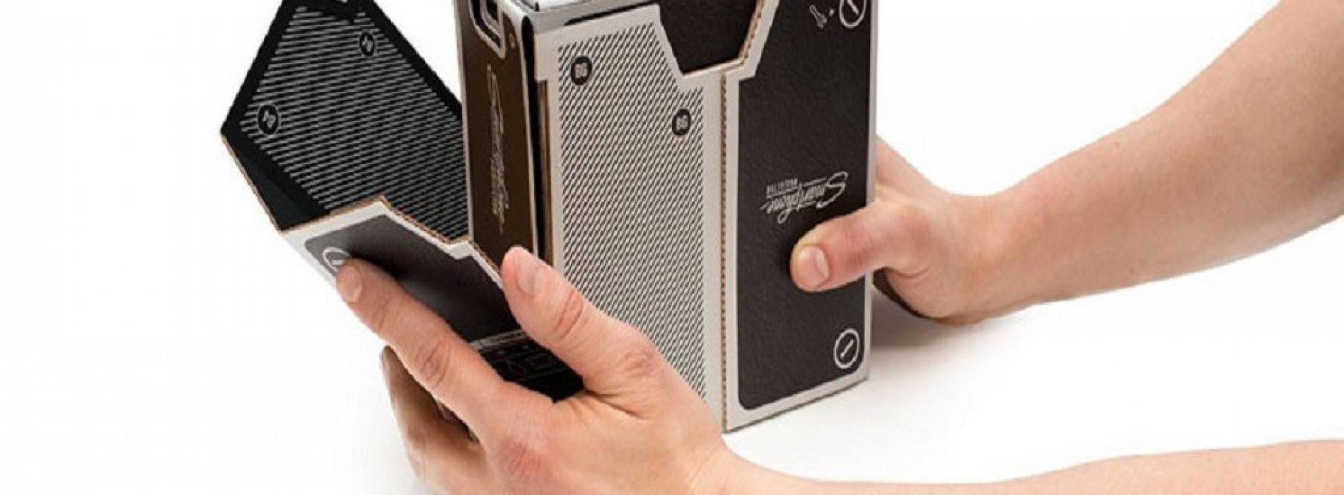 Proyector de cartón para tu smartphone