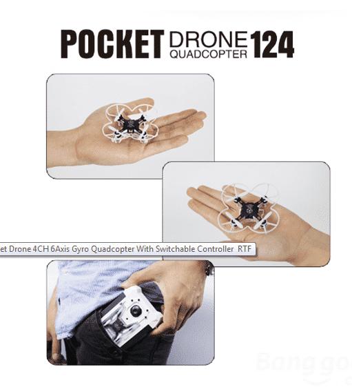 Pocket drone 124