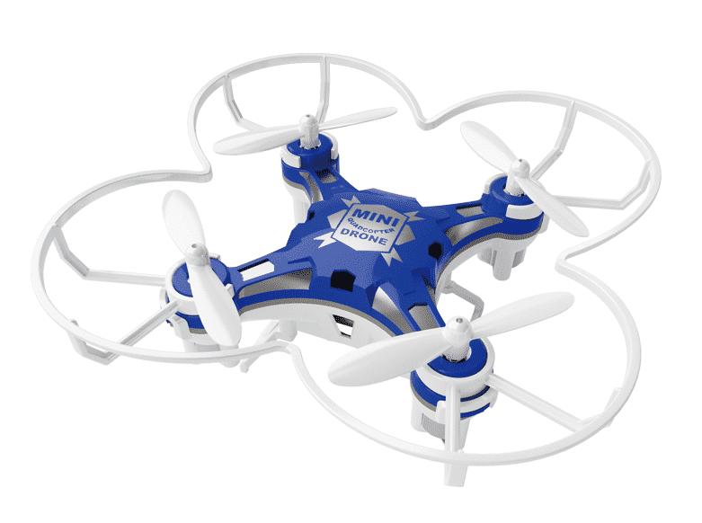 Pocket drone azul