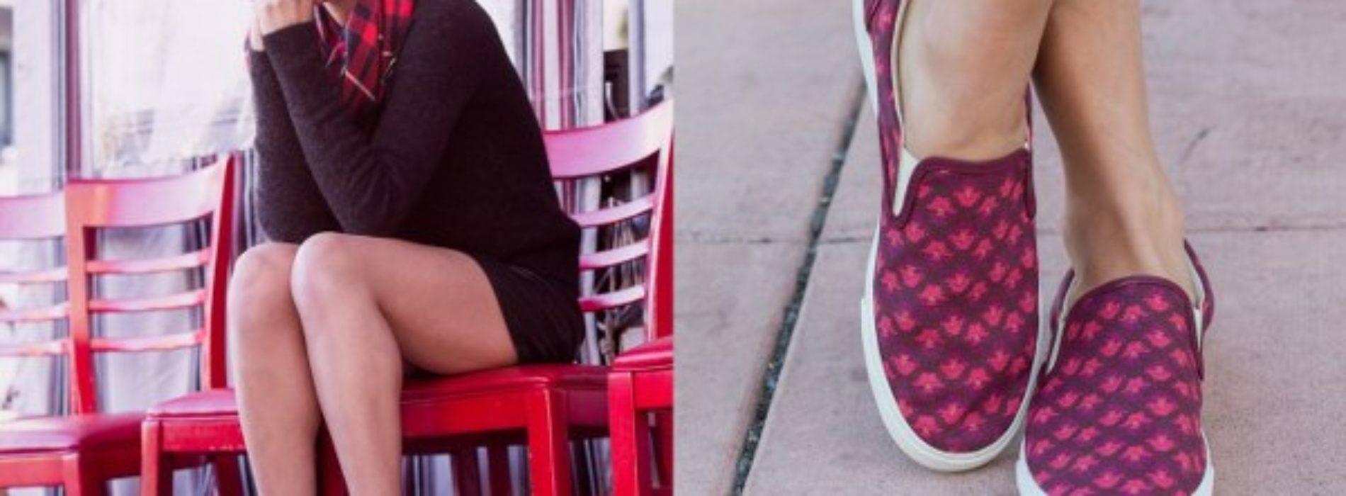 Las zapatillas conquistan los estilos chic urbanos