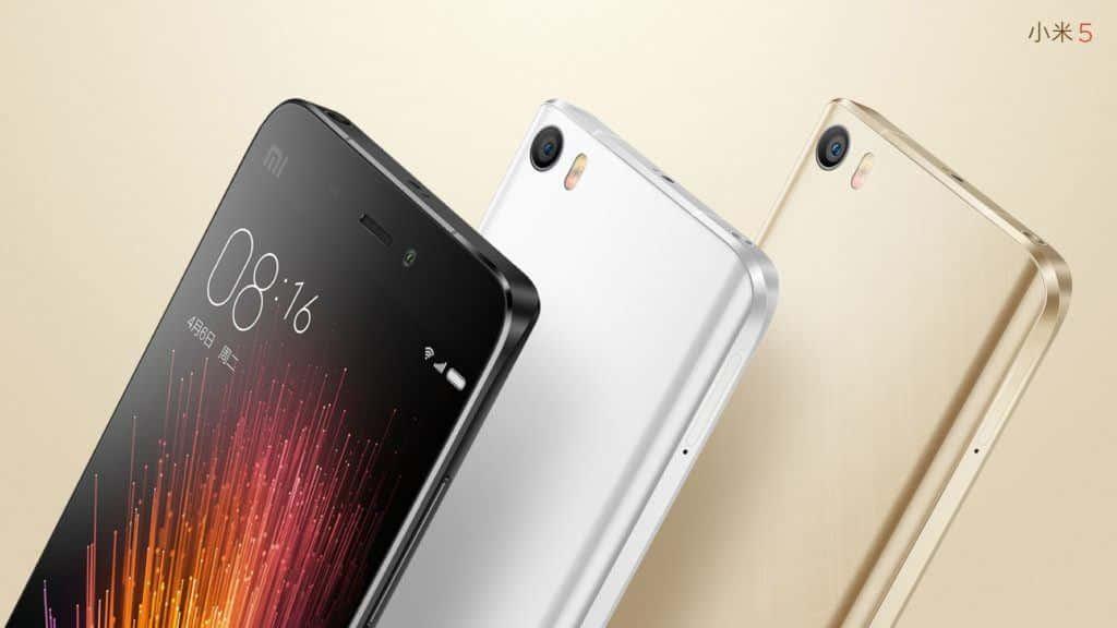 Colores Xiaomi Mi5