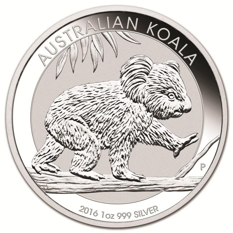 Australian Koala Plata