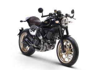 Ducati Scrambler Café Racer lateral