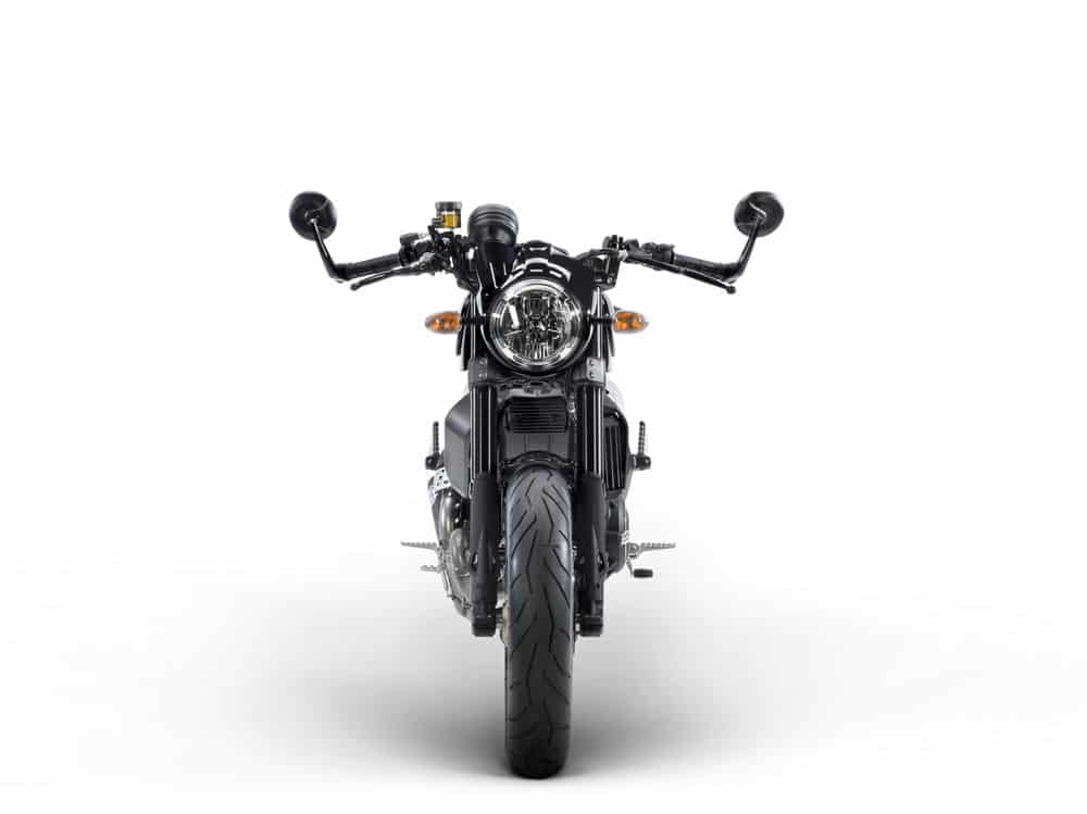 Ducati Scrambler Café Racer frontal