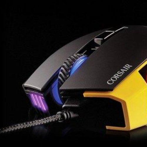 Corsair Scimitar es un ratón para los MMO con 12 botones programables y una iluminación RGB