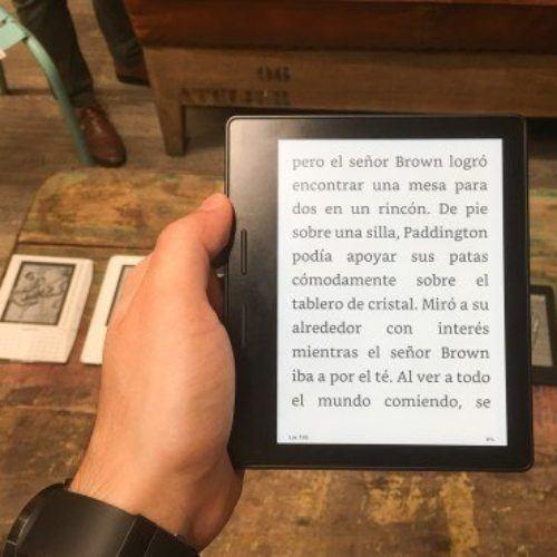 Kindle Oasis, es caro, pero perfecto para los amantes de la lectura