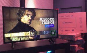 Screen Fusion TV con decodificador incorporado 3