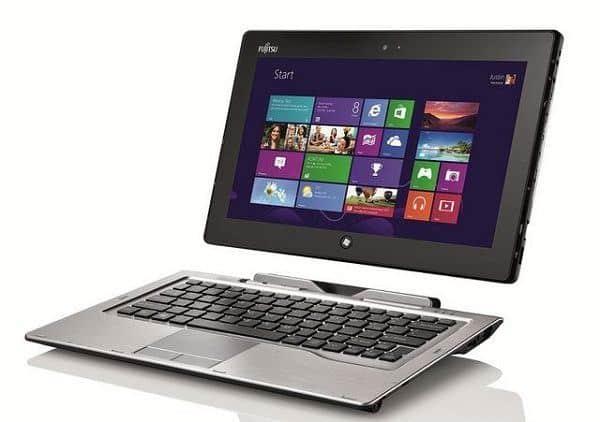 Fujitsu tablet convertible