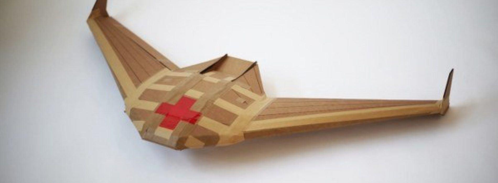 El nuevo proyecto de DARPA es un drone de cartón