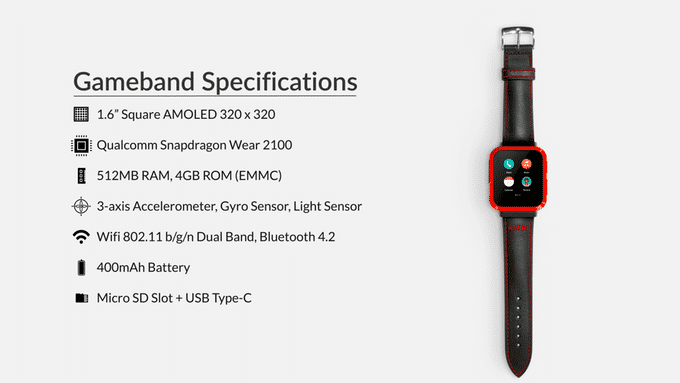Gameband Smartwatch Atari