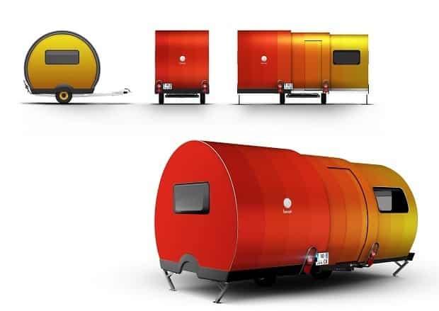 BeauEr 3X Diseño exterior naranja