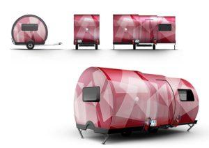 BeauEr 3X Diseño exterior rouge