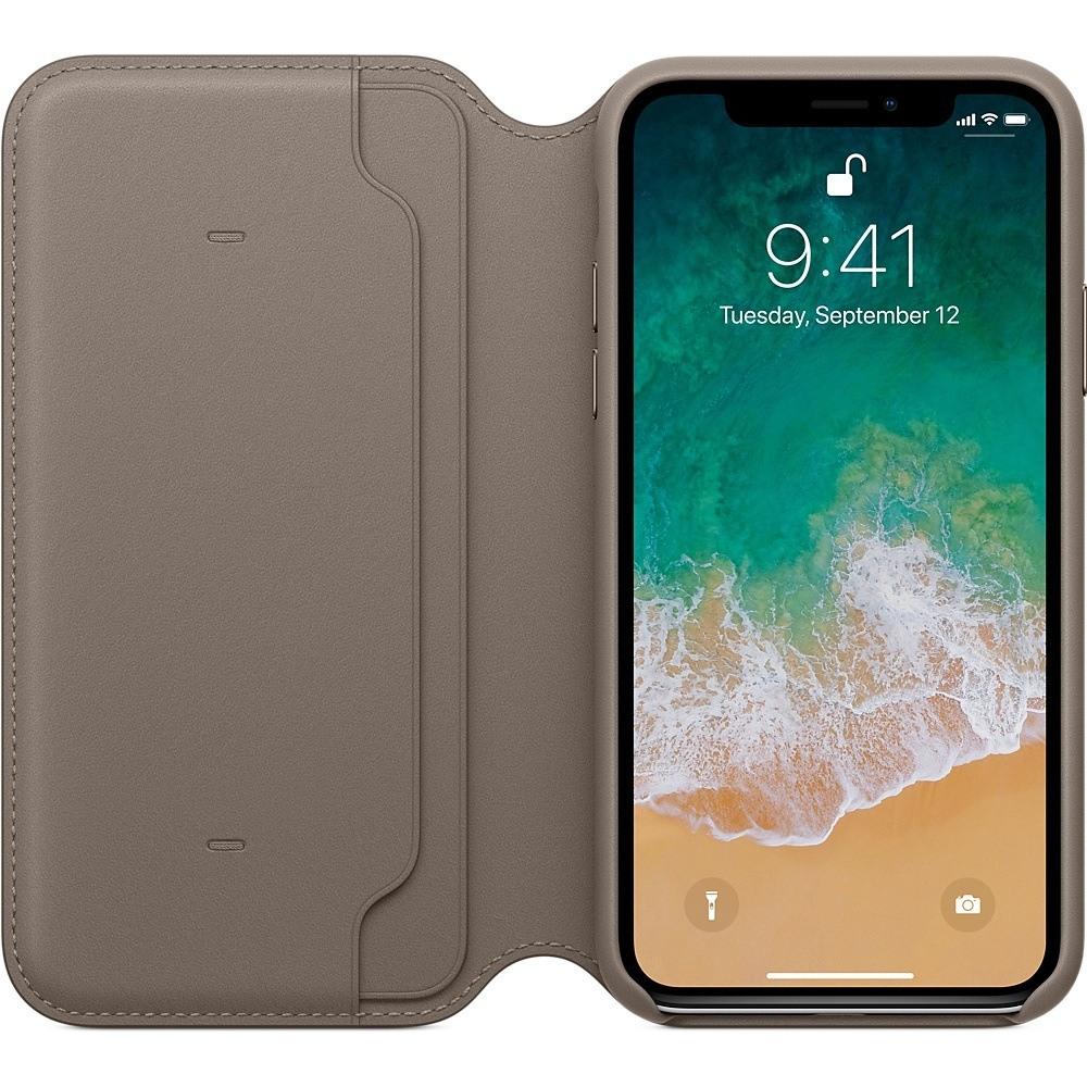 iPhone X funda marrón