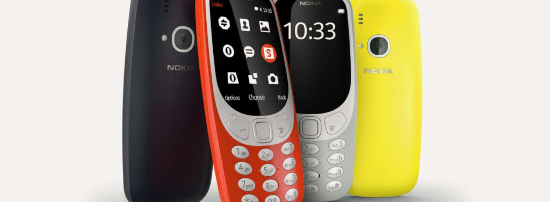 Nokia 3310, el resurgir de una leyenda