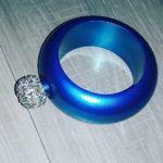 pulsera petaca azul