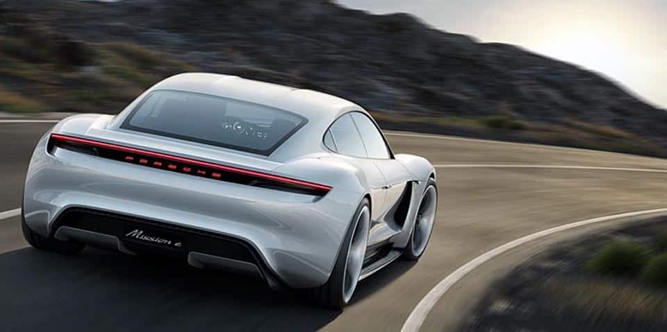 Porsche Taycan Trasera
