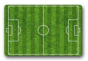 Alfombra campo de fútbol