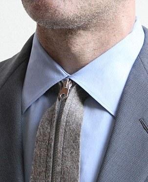 Corbata cremallera