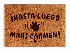 Hasta luego Mari Carmen