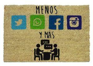 Menos redes sociales y mas charlar