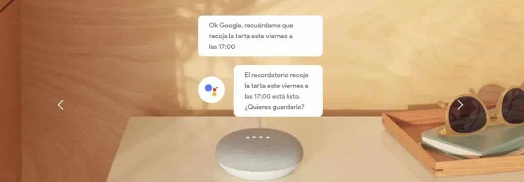 Funciones Google Home