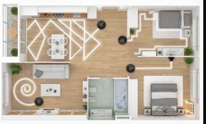 Mapa de la casa robot aspirador