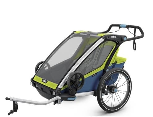 Carro de bicicleta marca Thule