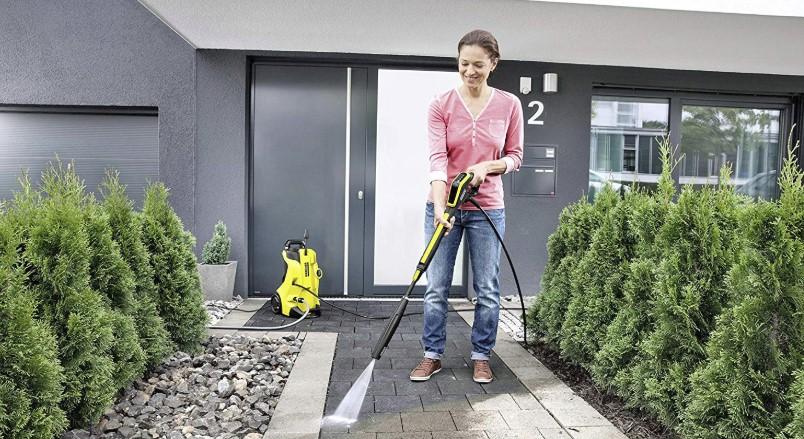 Limpiar suelos con la Kärcher K4 FC