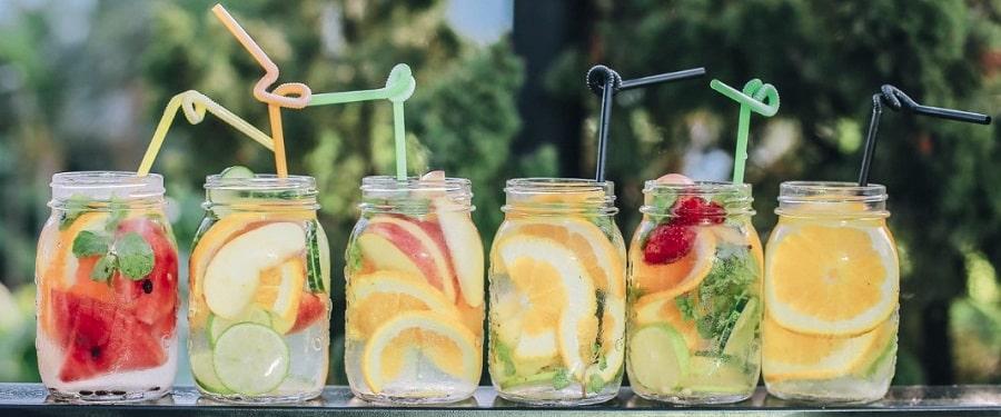 Vasos de zumo
