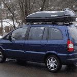 Farad 680 en Opel Zafira