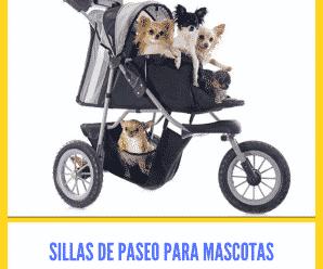 Sillas de paseo para mascotas