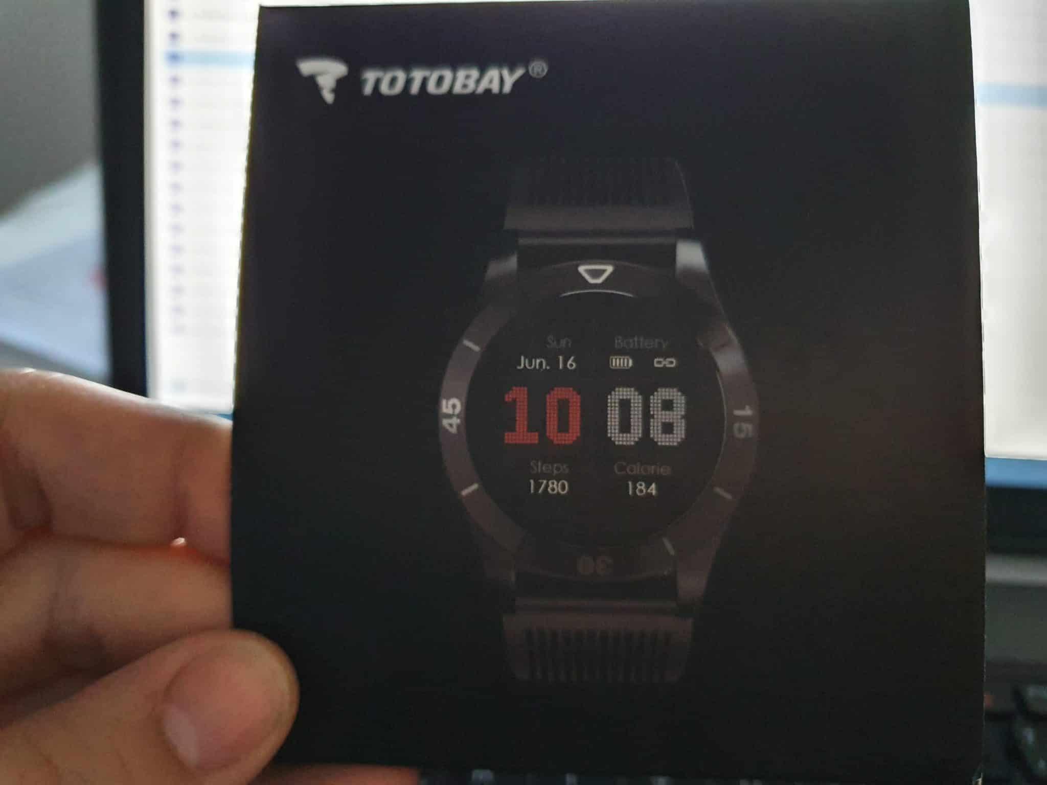 Caja Smartwatch Totobay