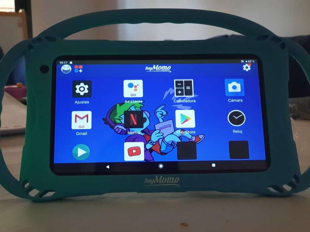 Una tablet pensada para niños, SoyMomo Tablet Lite 3