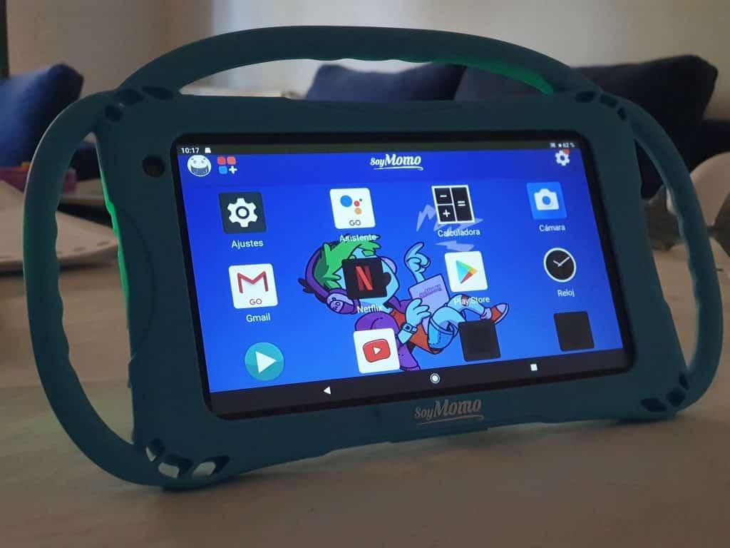 Una tablet pensada para niños, SoyMomo Tablet Lite 1